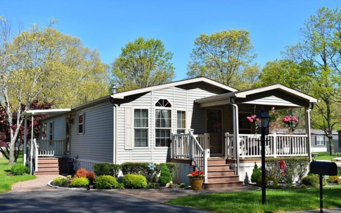 Trailer Vs. Manufactured Home - here's an example that shows how much nicer a manufactured home can be, at NJ's best place to retire - Pine View Terrace